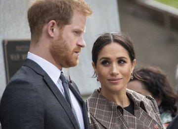Принц Гарри и Меган Маркл избавляются от королевской символики