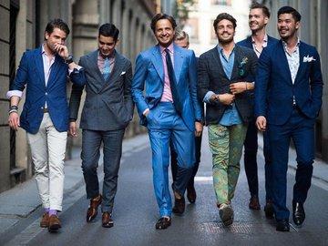 Живите стильно, смотритесь сильно. Какие цвета и стили для мужчин в моде этим летом