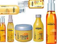 Профессиональные средства для блестящих и гладких волос