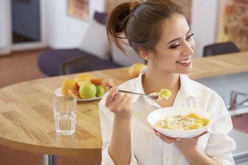 Чем завтракают модели
