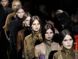 Givenchy: Неделя моды в Париже